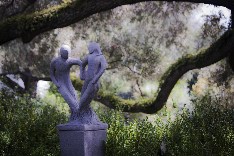 Statue Photograph - Two To Tango by Teresa Mucha