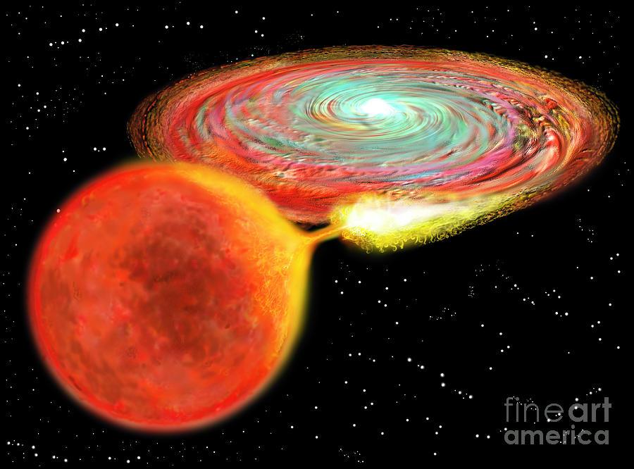 Type Ia Supernova Digital Art by Russell Kightley