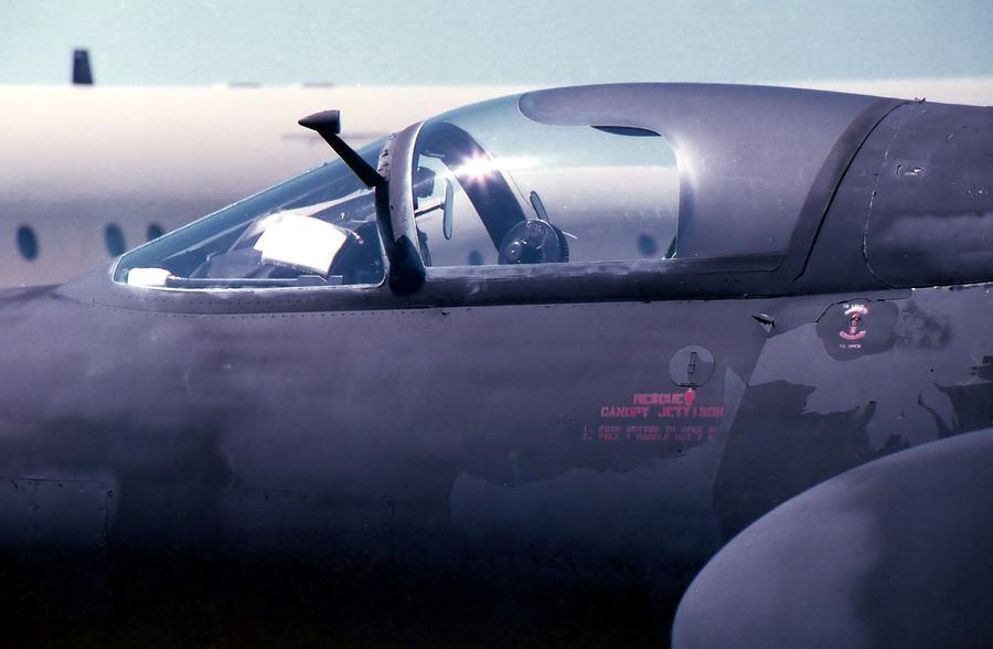 Photography Photograph - U2 Cockpit by Lynnette Johns