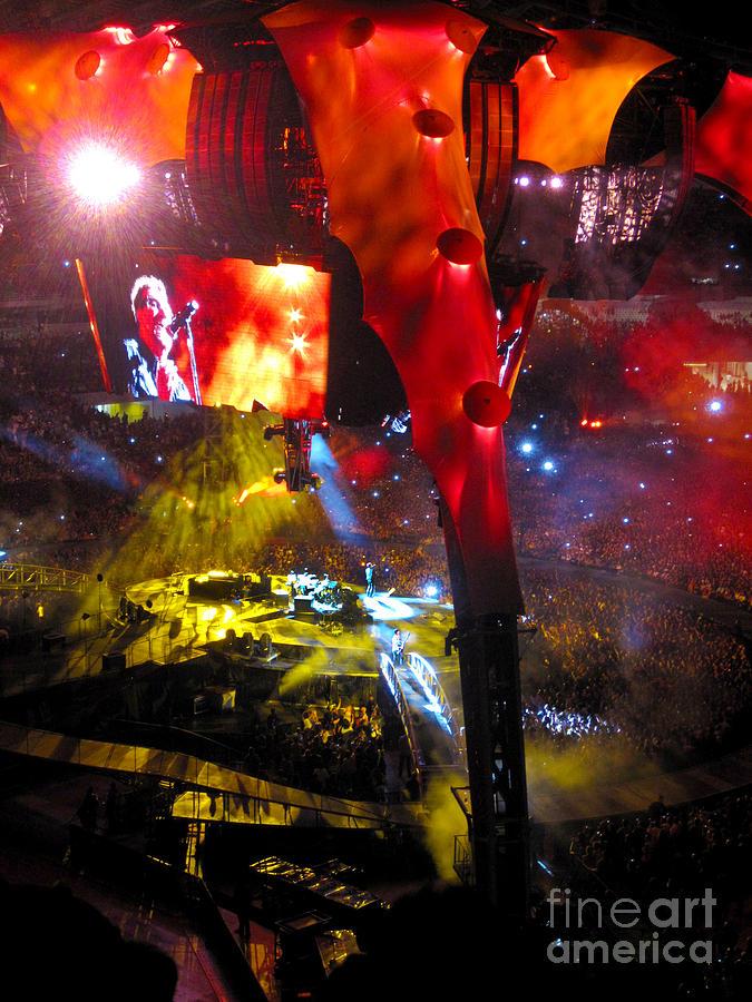 U2 Live Athens Photograph
