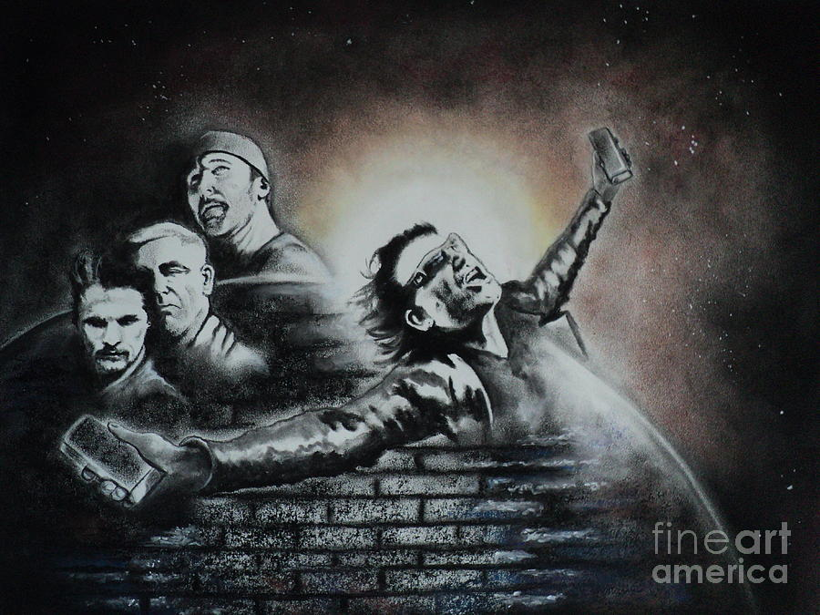 U2 The Sun Will Always Rise Drawing