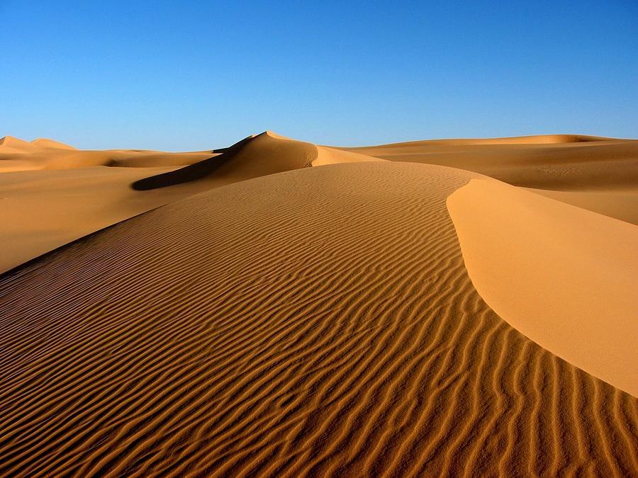 Ubari Sand Sea, Libyan Sahara Photograph