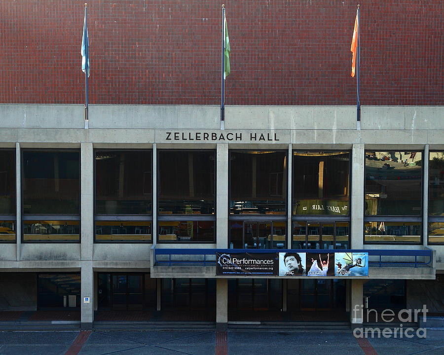 Zellerbach Photograph - Uc Berkeley . Zellerbach Hall . 7d10013 by Wingsdomain Art and Photography