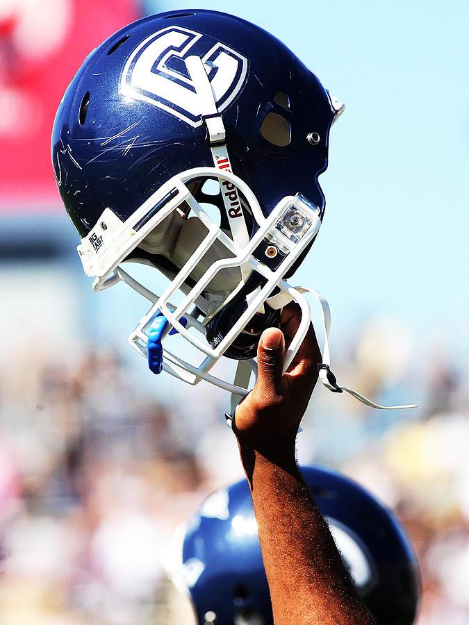 Uconn Helmet  Photograph