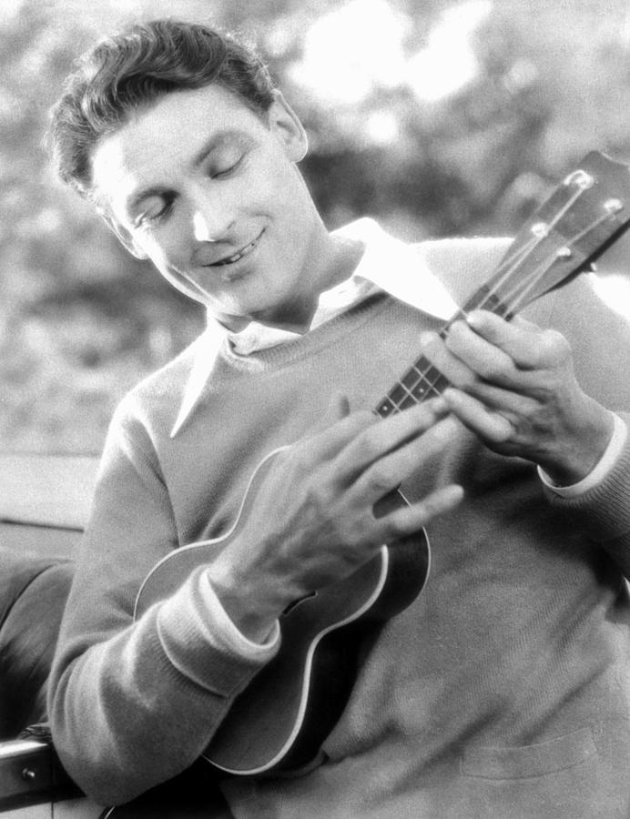 Ukelele Player, C1927 Photograph
