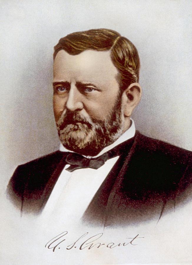 Ulysses S. Grant 1822-1885, U.s Photograph