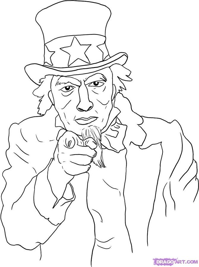 Uncle SamUncle Sam Drawing Tutorial