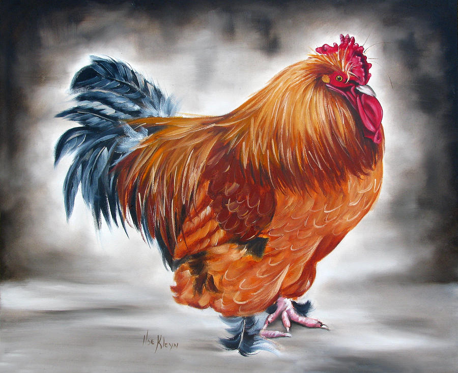 Uncle Samies Rooster Painting
