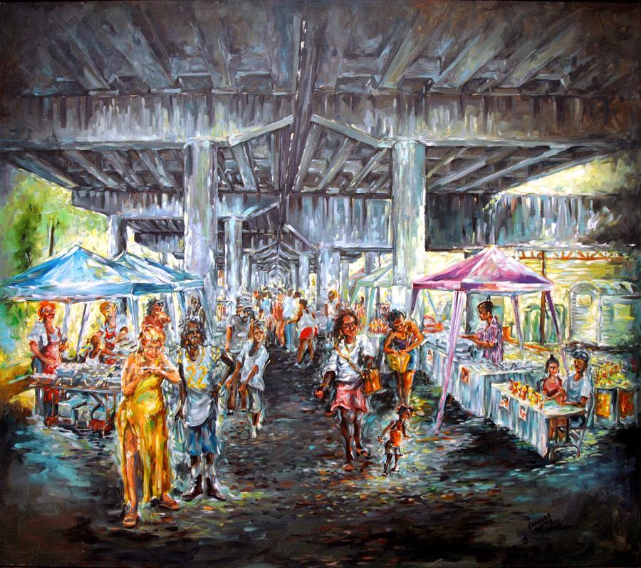 Under The Bridge Painting