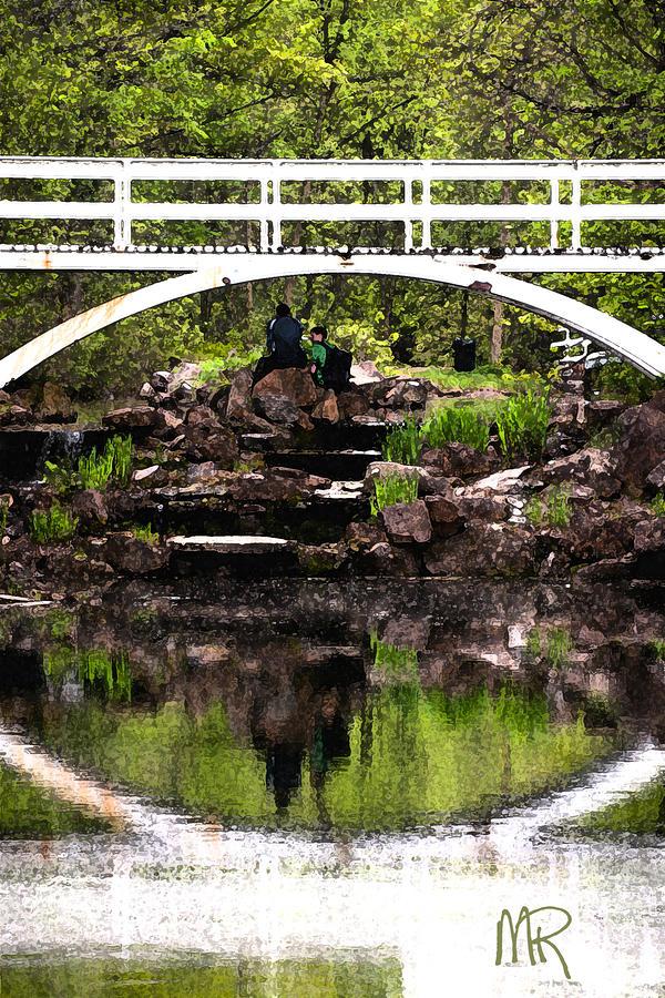Under The Bridge Pyrography