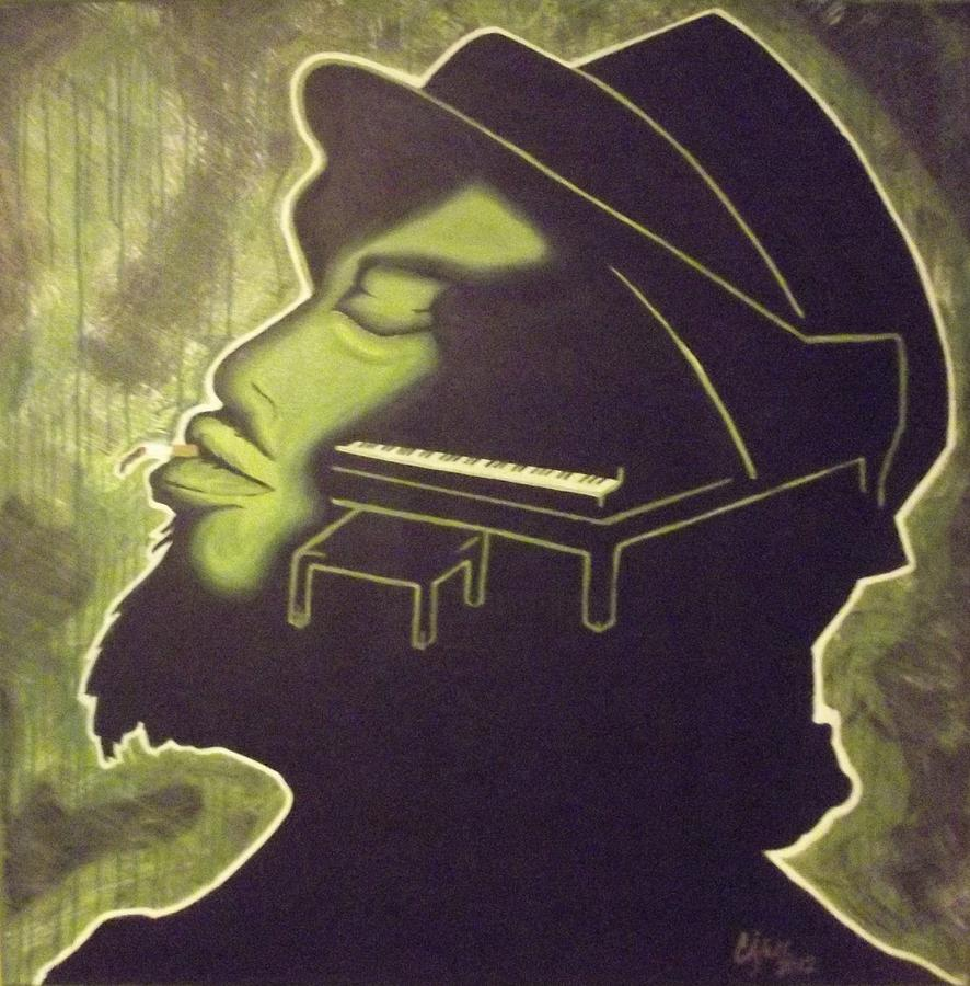 Music Painting - Under The Influence by Clyde Stallworth Jr