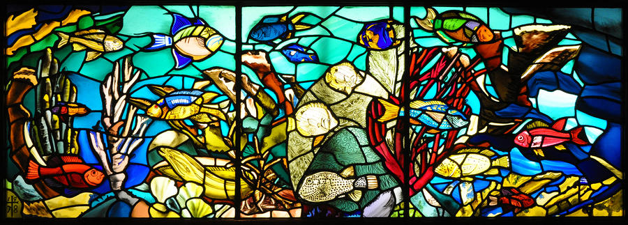 Under The Sea - Stained Glass Photograph