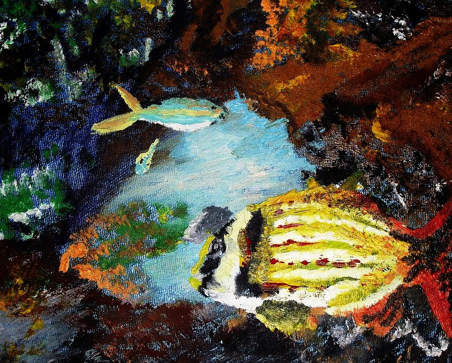 Under The Sea Painting  - Under The Sea Fine Art Print