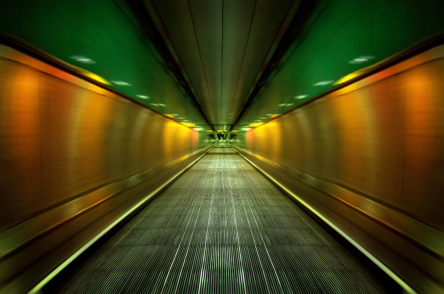 Underground Heathrow Photograph  - Underground Heathrow Fine Art Print