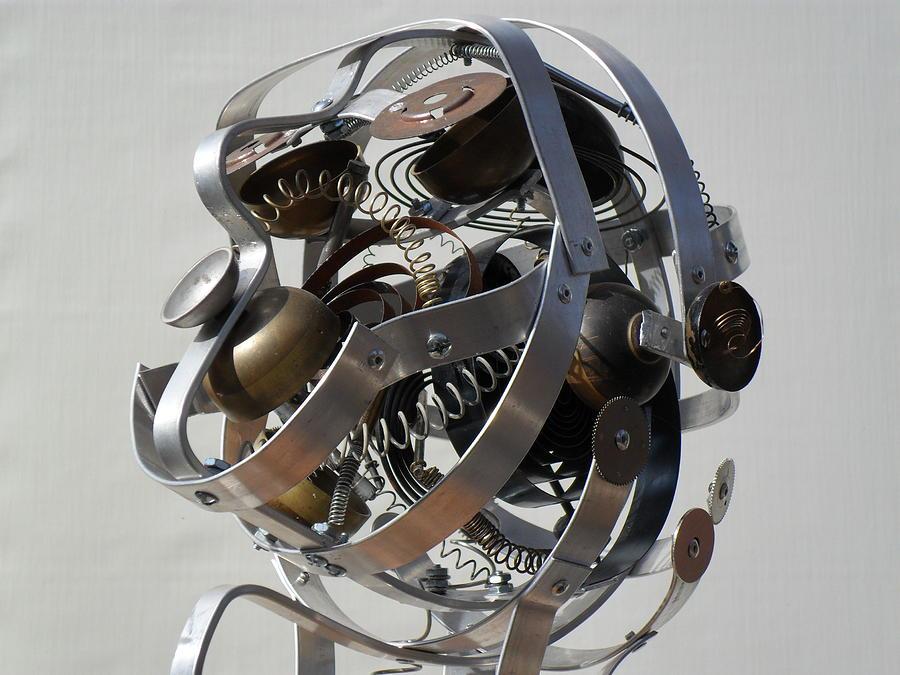 Junk Sculpture - Underlying Causes by Chris Woodman