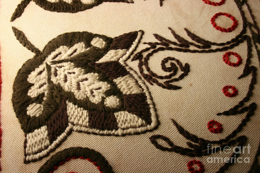 Unfolded - Close-up Tapestry - Textile
