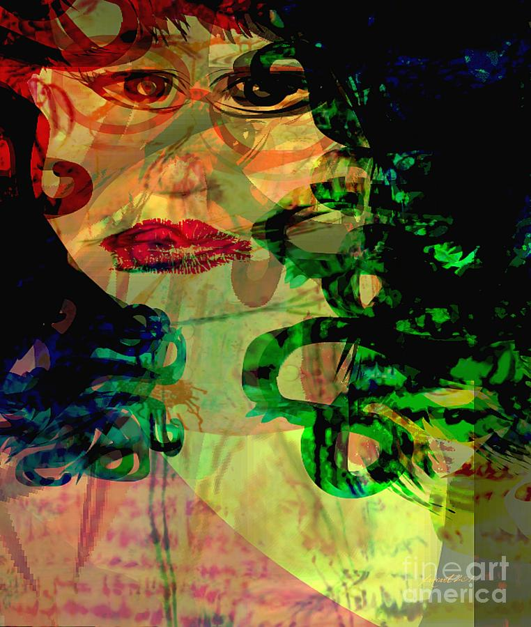 Unfrozen Memories Digital Art  - Unfrozen Memories Fine Art Print