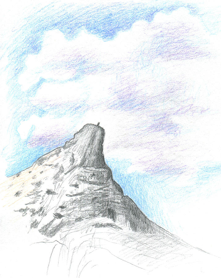 Unicorn Peak Drawing