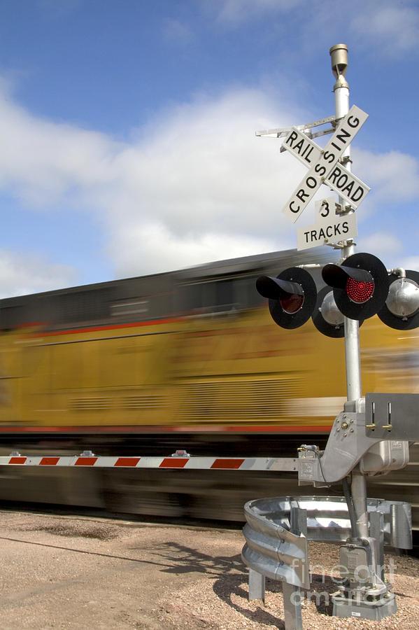 Union Pacific Coal Train Photograph