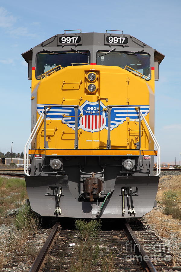 Union Pacific Locomotive Train - 5d18636 Photograph  - Union Pacific Locomotive Train - 5d18636 Fine Art Print