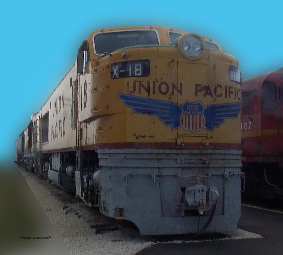 Union Pacific X 18 Train Photograph