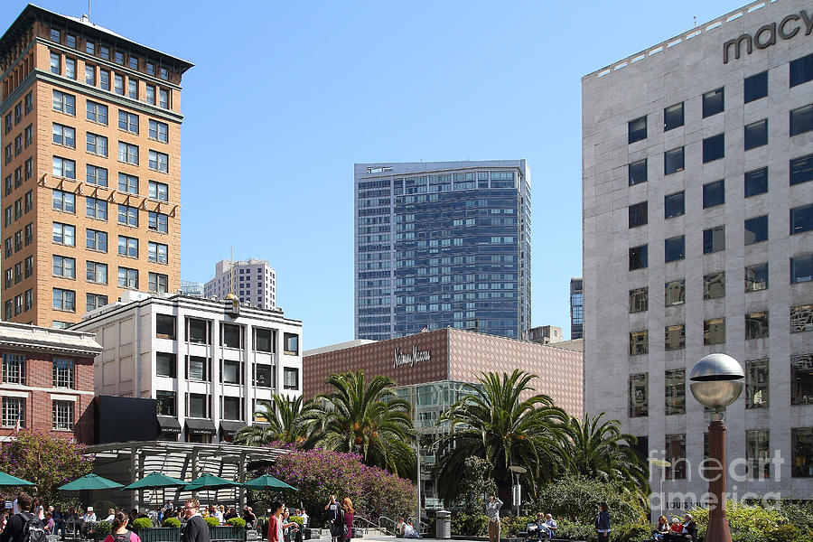 Union Square San Francisco Photograph  - Union Square San Francisco Fine Art Print