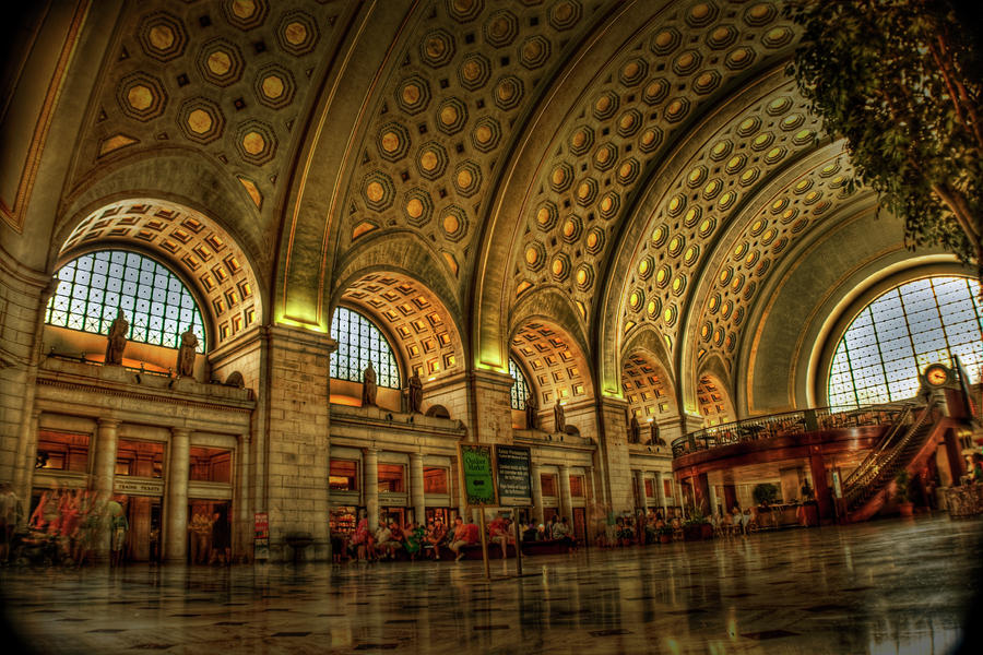 Union Station - Dc Photograph  - Union Station - Dc Fine Art Print