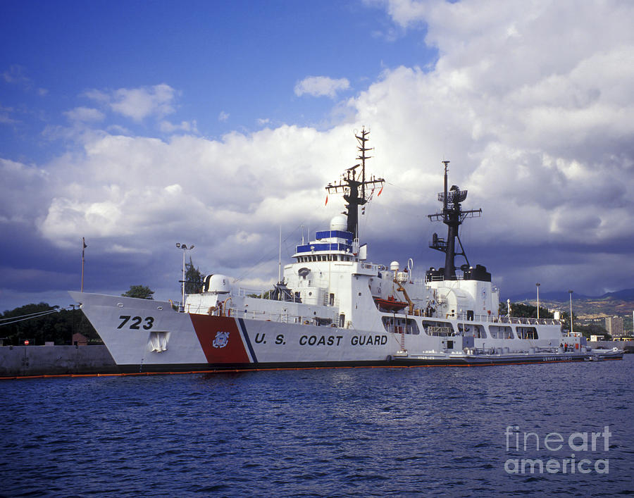 United States Coast Guard Cutter Rush Photograph
