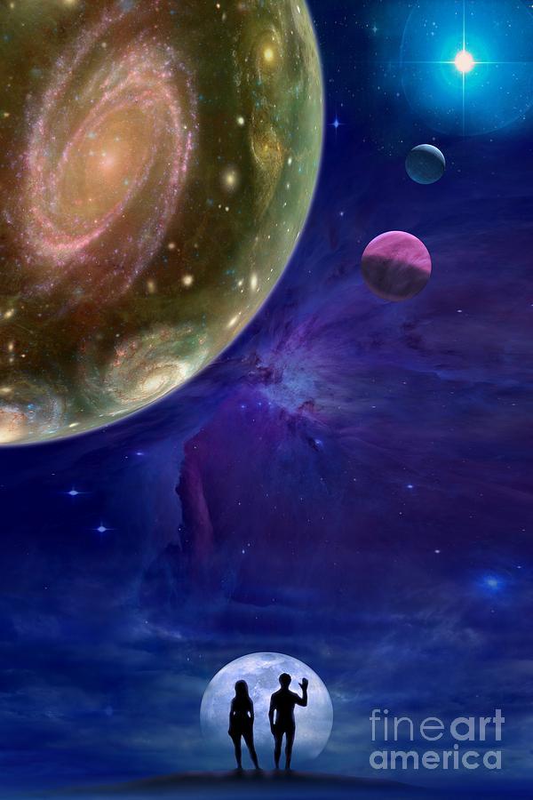 Universes Digital Art