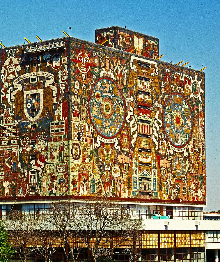 Universidad Nacional De Mexico Photograph