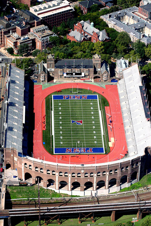 University Of Pennsylvania Franklin Field S 33rd Street Philadelphia Photograph  - University Of Pennsylvania Franklin Field S 33rd Street Philadelphia Fine Art Print