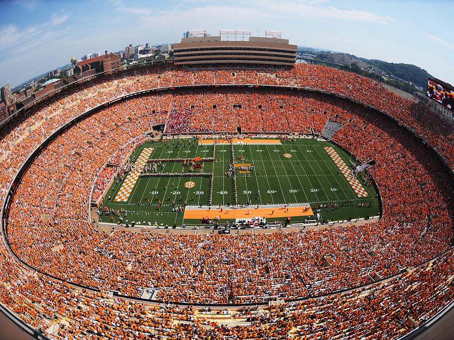 University Of Tennessee Neyland Stadium Photograph  - University Of Tennessee Neyland Stadium Fine Art Print
