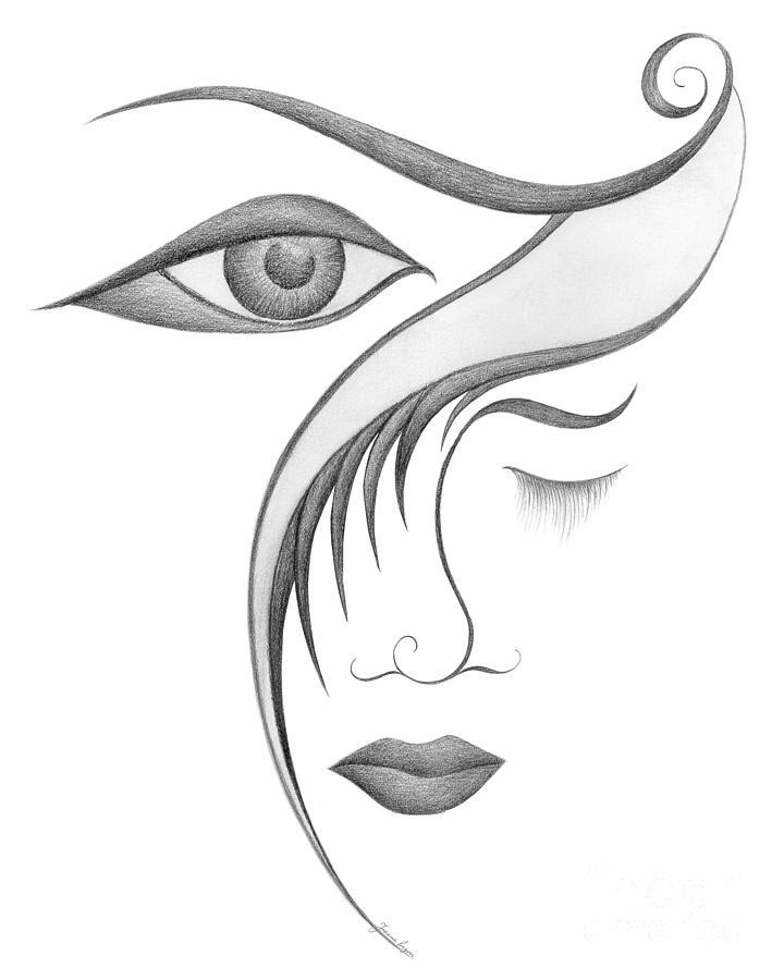 Sensual Drawing - Unnamed Sketch 03 by Joanna Pregon