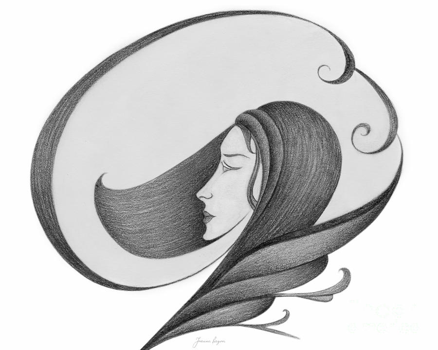 Sensual Drawing - Unnamed Sketch 04 by Joanna Pregon