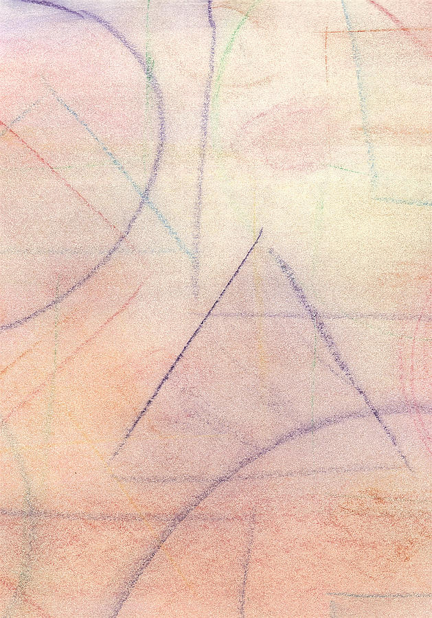 Abstract Pastel - Untitled by Marc Chambers