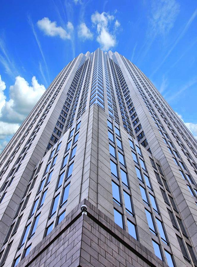 Charlotte North Carolina Highrise Photograph - Up In The Sky by Kenneth Mucke