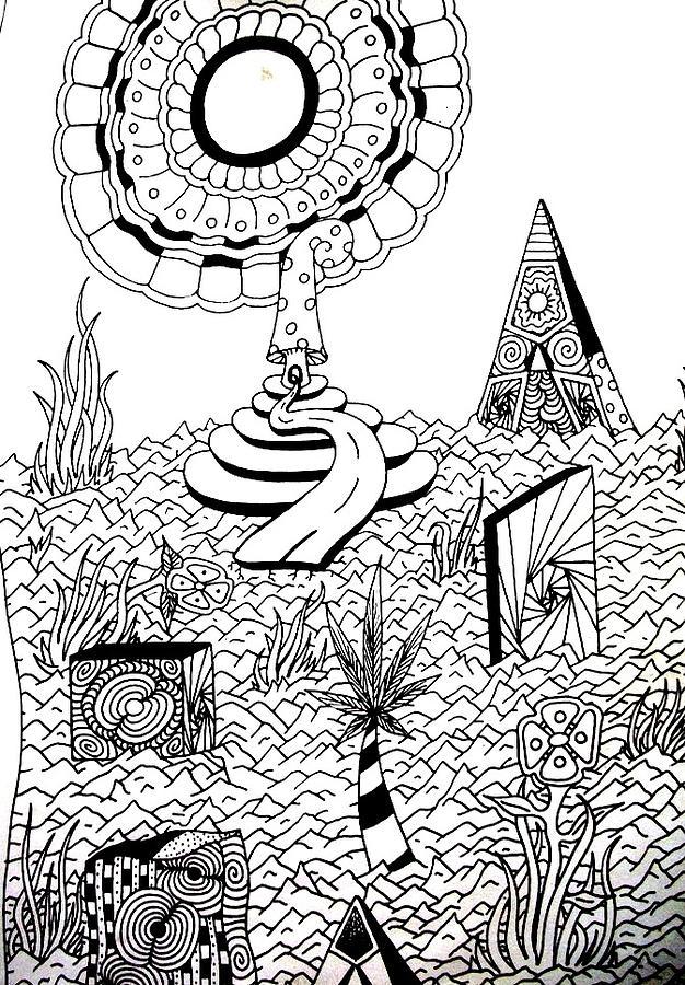 Upland Drawing