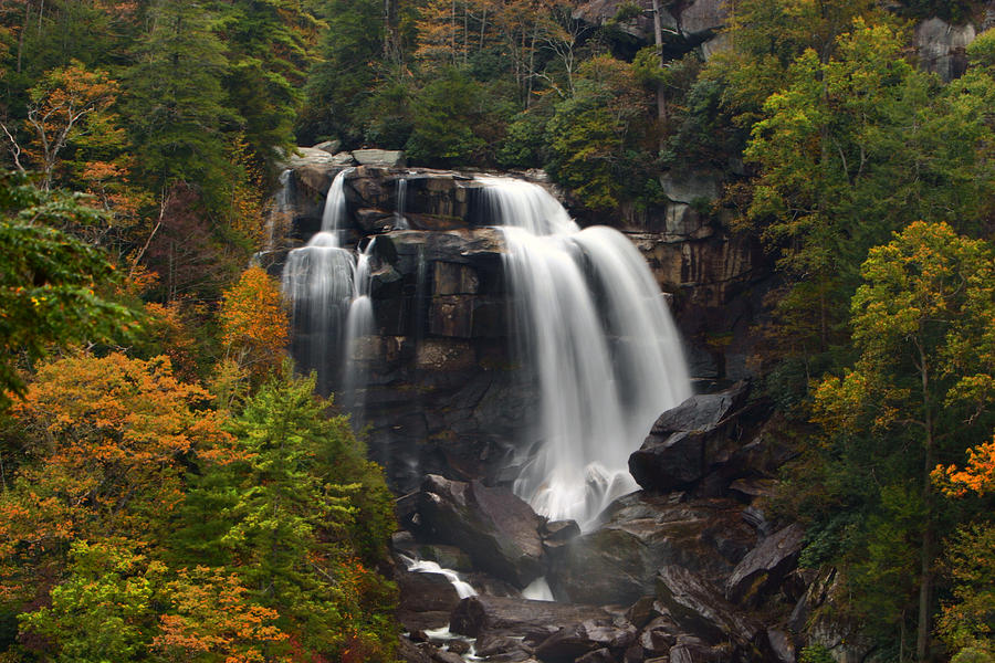 Upper whitewater falls nc by shari jardina for Jardina