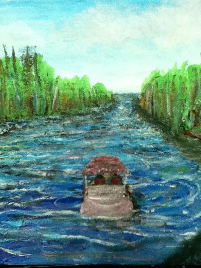 Upstream Painting