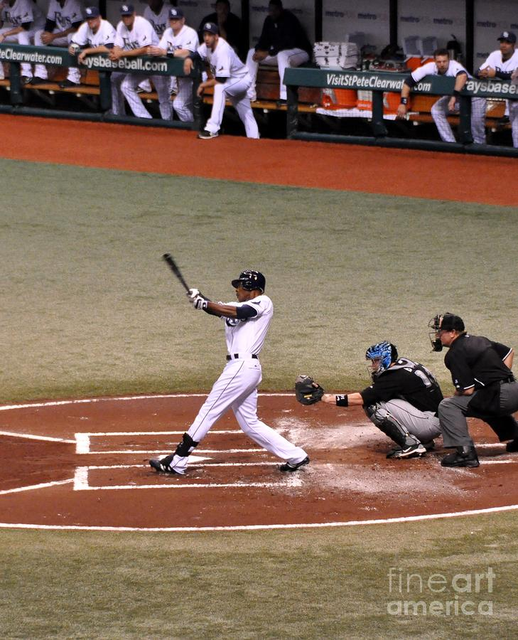 Upton At The Plate Photograph