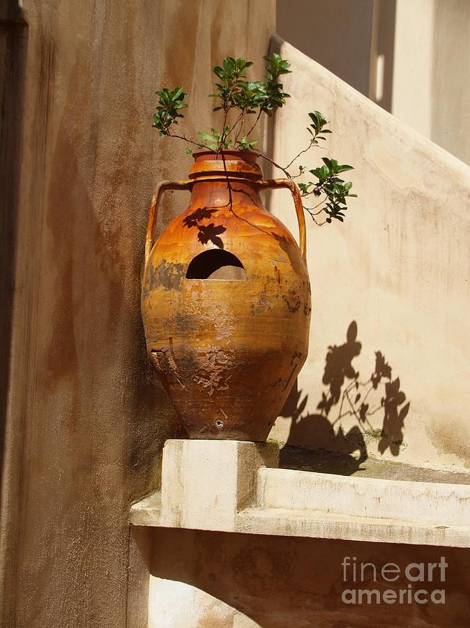 Italy Photograph - Urna Ditalia by Joyce Hutchinson