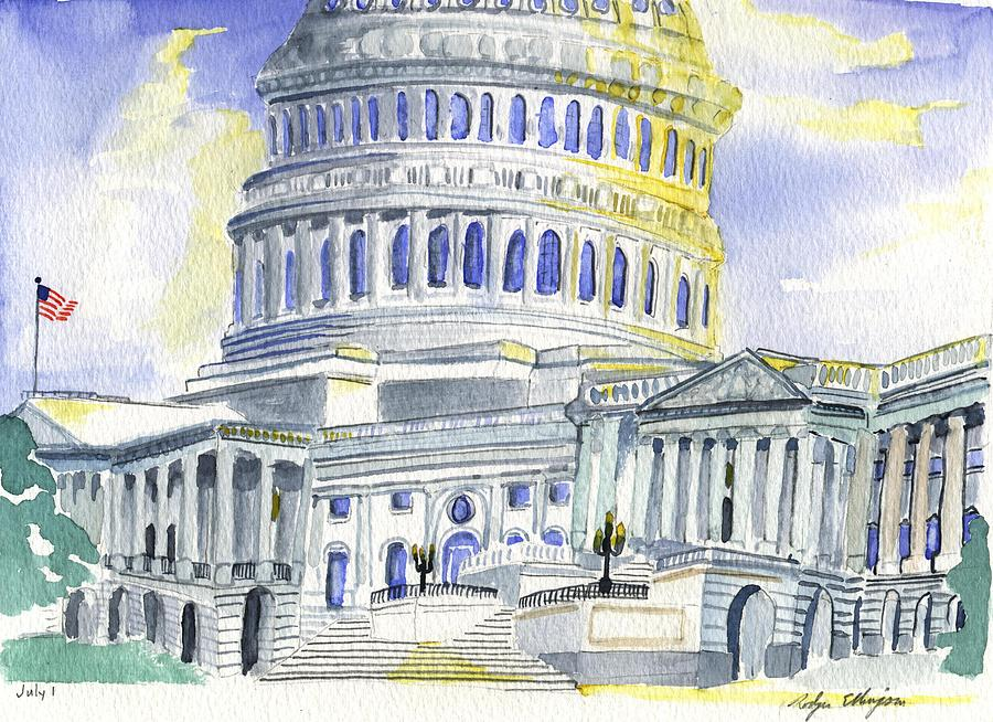 Us Capital Painting