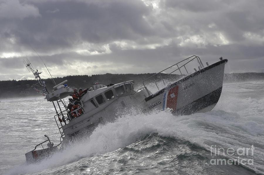 U.s. Coast Guard Motor Life Boat Brakes Photograph