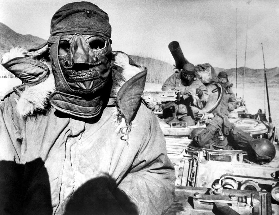 U.s. Marines In Korea During The Korean Photograph