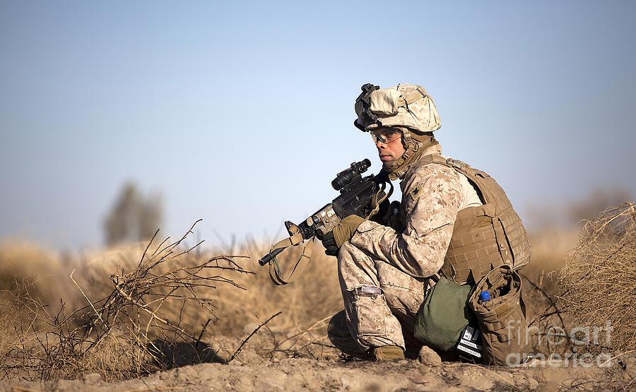 U.s. Navy Soldier Participates Photograph