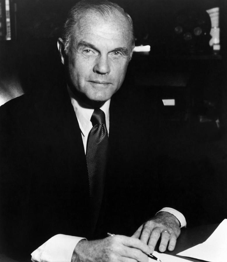 U.s. Senator John Glenn, Ca 1980 Photograph