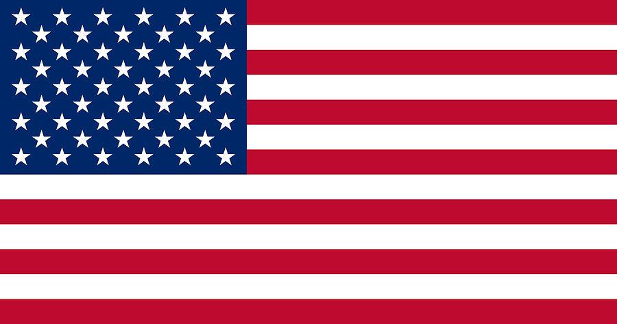 Usa Stars And Stripes Flag Photograph