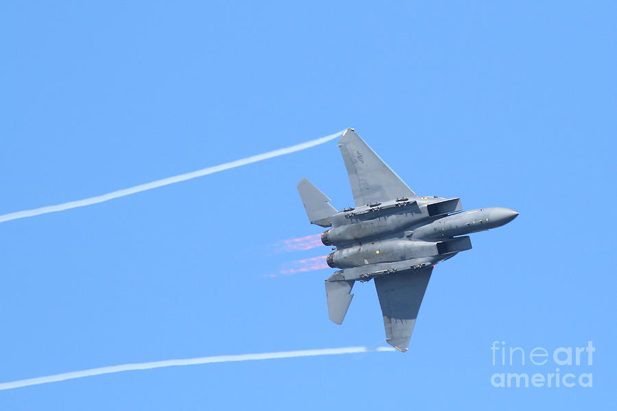 Usaf F-15 Strike Eagle . 7d7864 Photograph