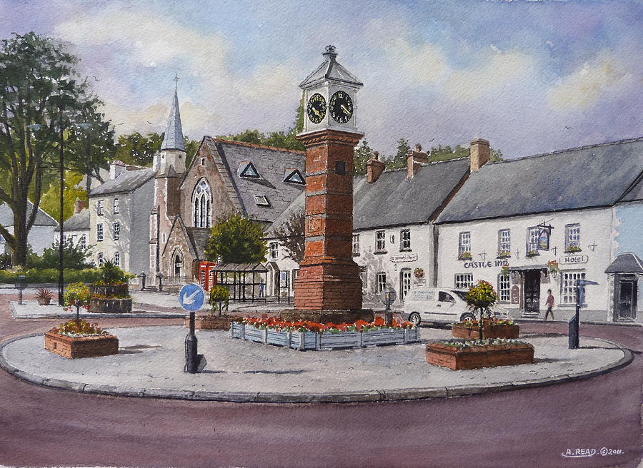 Usk In Bloom Painting  - Usk In Bloom Fine Art Print