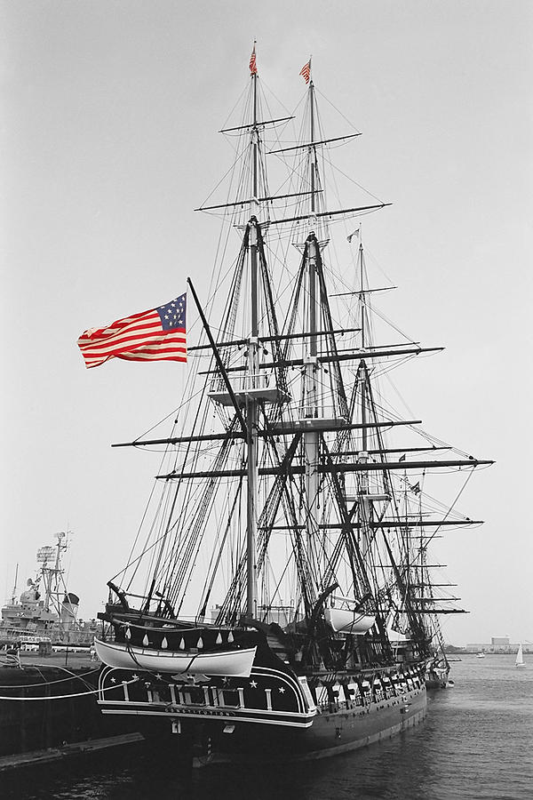 Uss Constitution Photograph  - Uss Constitution Fine Art Print